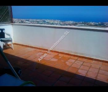 Ático con gran terraza en Benalmádena